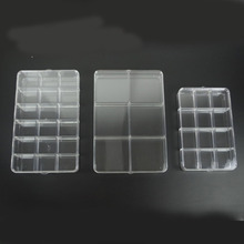 Jewelry Storage Clear Acrylic Diamond Organizer Box Case Craft DIY Home Storage Tools