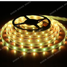 WS2811 60led/m 20IC Flexible led ribbon15M Waterproof IP67 digital led strip pixel Changeable color RGB l 5050 TV Light Arduino(China)