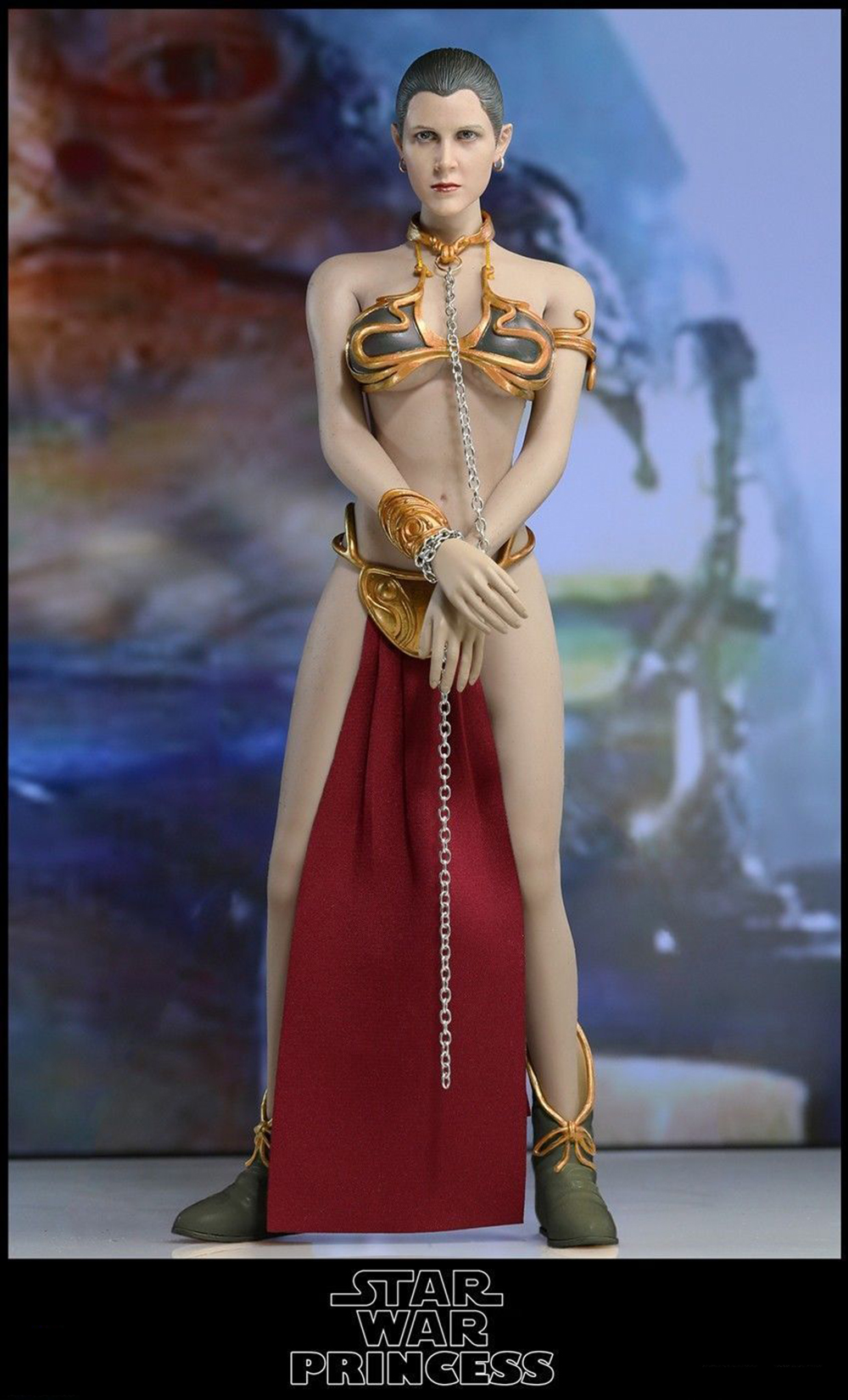 """1 Pair Gold Bracelet Model Toy for 1//6 Scale 12/"""" Phicen HT Female Action Figures"""