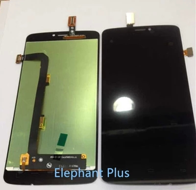 4.5 Inch Touch Screen Digitizer + LCD Display Assembly  For Gionee Ctrl V4S Black/White Color Front Panel<br><br>Aliexpress