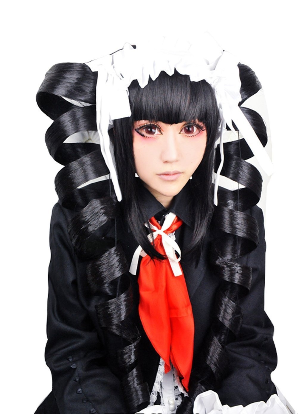 Danganronpa Dangan-ronpa Celestia Ludenberg Black Styled Long Ponytails Without Hair Accessory Party Costume Cosplay Wig<br><br>Aliexpress