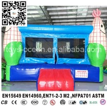 4X4m inflatable corn bouncer house for jumping kids fun