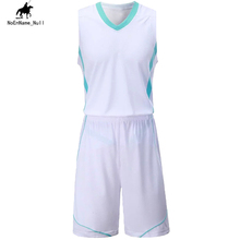 2017 Summer Brand Hot Sale Basketball Jersey And Short Pants School Competition Clothes Latest Size 5XL