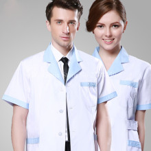 2017 New Man & Women Medical Scrubs Long Hospital Robe Clothings Slender Nurse Doctor Clothes Scrub Wholesale OEM Acceptable