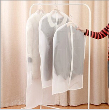 3 Sizes Storage Bag For Clothes Hanging Suit Dust Cover Three-dimensional Transparent Organizer For Overcoat Protector.