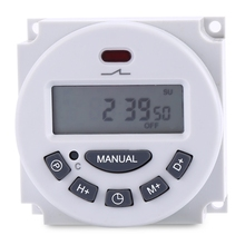 Hot Sale 110V LCD Digital Programmable Control Power Timer Switch Time Relay Used For Street Lights Advertising Lights