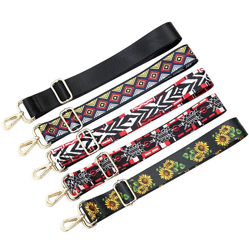 Fashion Adjustable Handbag Strap Replacement Crossbody Shoulder Bag Straps Belt Decorative Handle Ornament