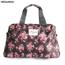 Women Lady Large Capacity Floral Duffel Totes Sport Bag Multifunction Portable Sports Travel Luggage Gym Fitness Bag 5 Colors(China)