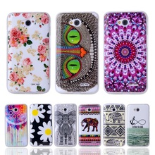 For LG L65 Fashion Silicone Case Owl Tower Flag Soft Plastic Cover For LG L65 D285 D280 L70 D320 D325 Plastic Cell Phone Case