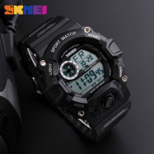 SKMEI Luxury Brand SHOCK Men Sports Watches Camouflage Military Watches Waterproof LED Digital Wristwatches Relogio Masculino(China)