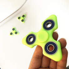 Buy 2017 New Tri-spinners Long Time Funny Toys ADHD Gifts Fidget Spinner summer party light Glow dark EDC Hand Spinner for $1.20 in AliExpress store