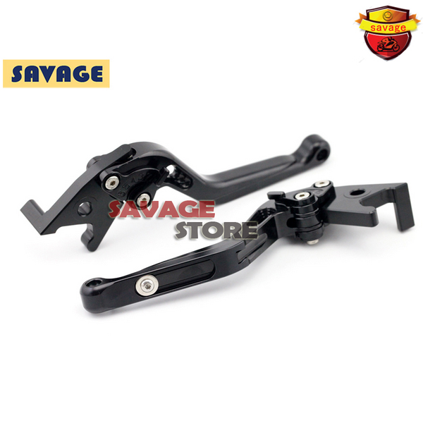 For SUZUKI UX-150 Sixteen UH 125 150 200 Burgman Black Motorcycle Extending Brake Clutch Levers extendable CNC Aluminum<br>