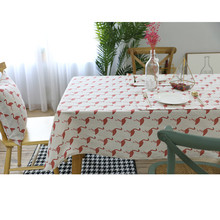 New Home Party Tablecloth Rectangle tableclothes Table cloths cotton linen round Covers Table Clothes Wedding Decoration(China)