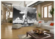 Free shopping 2015 New Non-woven Eiffel Tower in Paris, France background wall paintings wallpaper