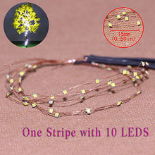evemodel  DD85W1510 5 Strips 10-LED  Pre-soldered micro  Copper Wired WHITE SMD LED 0805 model train 1/35 railway modeling
