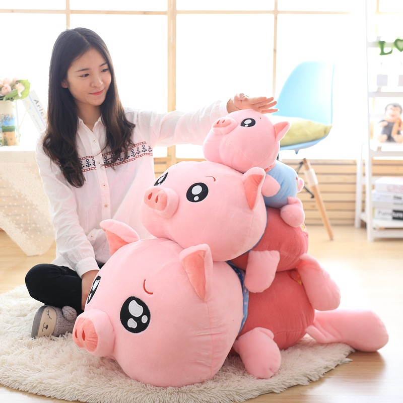 45cm 60cm 90cm Cute Big Nose Girl Lovely Big Doll Fashion Plush Doll Toy Gift Pink Cut Toys<br><br>Aliexpress