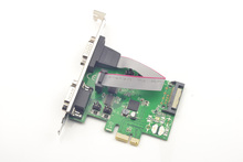 2 Ports Serial RS232 PCI-Express Expansion Card DB9 COM Adapter XR17V352 Chipset(China)