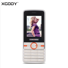 XGODY S8610 Mobile Phone 2G GSM Unlock Mobile Phone Dual Sim Cards H-Mobile Key Cheap Phone with Free Shipping 1680mAh Telephone
