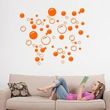 New Promotion Bubble Wall Art Bathroom Window Shower Tile Decoration Decal Kid Sticker 4 Color