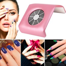 Nail Dust Collector Machine Nail Cleaner Portable Electric Nail Art Equipment Manicure Hand -rest design comfortable Nail salon