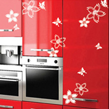 Hot Sale Promotion  Diy Wall Stickers Wall Romantic Decoration Stickers Furniture Kitchen Cabinet