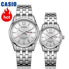 58d86272884 Casio relógio Analógico Dos Homens e das mulheres Simples ponteiro do  relógio de quartzo casal relógio à prova d  água MTP-1335D.
