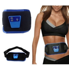 ABGymnic AB Gymnic Electronic Body Muscle Arm leg Waist Abdominal Massage Exercise Toning Belt Slim Fit Belt Health Care therapy