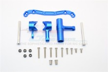 THUNDER TIGER 1/8 BRUSHLESS TRUCK K-ROCK MT4-G5 6406F ALLOY STEERING ASSEMBLY - SET KG048