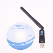 150M Wifi Bluetooth 4.0 Wireless Nano USB Adapter Network Card with Antenna for Windows XP/Vista/7/8/Mac for Computer Notebook