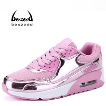 BEXZXED women Sneakers athletic shoes air Breathable Mesh Running shoes Outdoor Walking shoes(China)