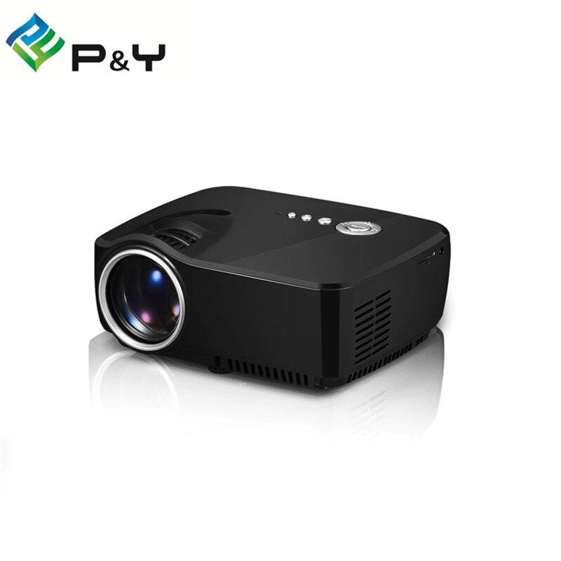 GP70 projector 3D mini Projector 800Lumens Support 800 x 480 Analog TV LED Projector Full HD 1080P 3D Projector Better UC40<br><br>Aliexpress