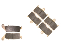Brake Pads set for VICTORY 1634 King Pin All Models 2008 2009 2010 2011 2012 2013 2014 2015 ( Low 8-Ball )(China)