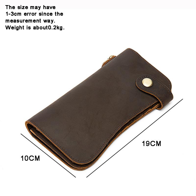 chain leather men wallets (1)