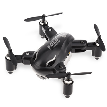 SY-X31 Mini Folding RC Quadcopter 2.4GHz 4CH 6 Axis Gyro 360 Degree Eversion One Key Return With LED Light