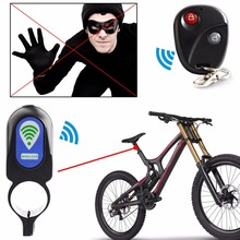 Buy Bicycle Alarm Lock Anti-theft Lock Remote Controller Riding Cycling Security Lock Vibration Alarm Bicycle Accessories New for $6.55 in AliExpress store