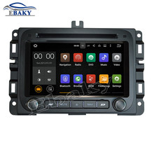 NaviTopia 7inch Quad Core 2GB Android 7.1 Car DVD player For Dodge RAM 1500 2014- with Radio GPS/Bluetooth/wifi/maps 1024*600(China)