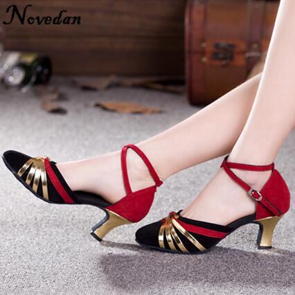 DB24225 closed toe latin salsa dance shoes-4_