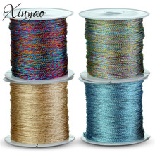 1roll/lot Diameter 0.2/0.4/0.6/0.8/1.0mm Inelastic Strong Nylon Beading Cord Macrame String Thread Diy Jewelry Fupplies F5192(China)