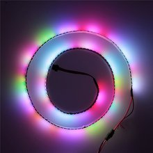 Mokungit 3.2ft WS2812B Individually Addressable Digital RGB LED Strip 144 Pixels High Density Magic Dream Color Programmable LED