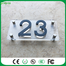 3D acrylic house number and room number/ company logo, name, decoration, guide boards