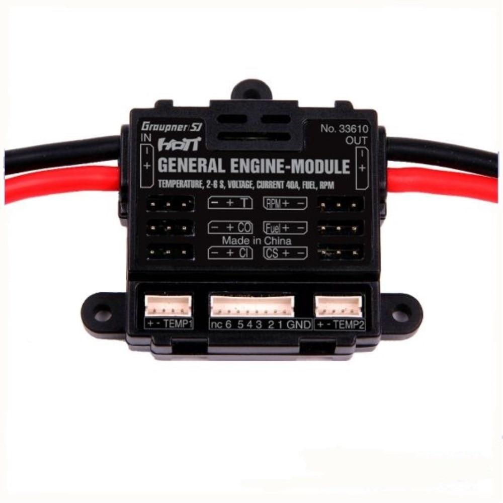 Graupner HoTT General Engine Module 2-6S Telemetry Monitoring<br><br>Aliexpress