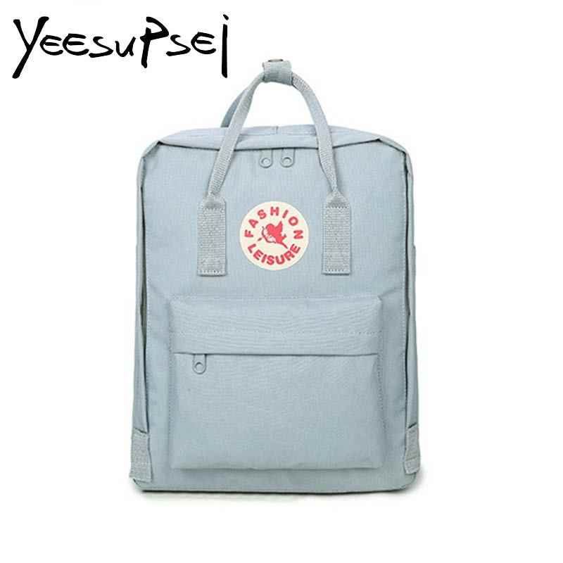 b1e2d362c1 YeeSupSei Cute Canvas Fashion Backpack Female Backpack Design For Girls  Leisure Travel School Simple Personality Luggage