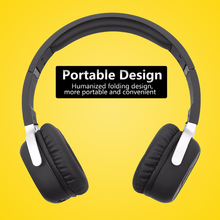 New Bee Wireless Bluetooth Headphones with Mic NFC Sport Bluetooth Headset with Pedometer App Stereo Earphone for Phone Compute(China)