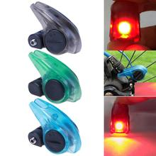 1pcs Bicycle Brake Light Safety Road Bike Warning LED Light Folding MTB Cycling Suitable for V Brakes Automatic Control 3 Colors