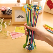 Cute Cartoon Animal Long Cable Winder Headphone Earphone Organizer Wire Holder Home Office Kitchen Storage Organization
