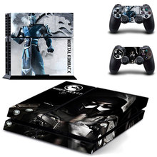 Mortal Kombat.X Game Decorated Skin Sticker Decals Cover For Playstation 4 PS4 Console Controller