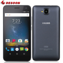 In Stock! Case+film) UHANS H5000 Mobile phone 4G LTE mobile phone 4500mAh HD MTK6737 Quad Core Android 6.0 3GB RAM 32GB ROM 13MP(China)