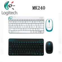 New arrival Original Genuine For Logitech MK240 wireless keyboard and mouse computer Combos Mini Keyboard and Mouse