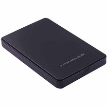 Buy Black USB 2.0 HDD Enclosure SSD Case 2.5 Inch External SATA Hard Disk Drive for $3.85 in AliExpress store
