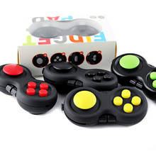 2017 Fidget cube Pad Desk Finger Toys Anti-anxiety and Depression Cube for Children and Adults 9 Fidget Features